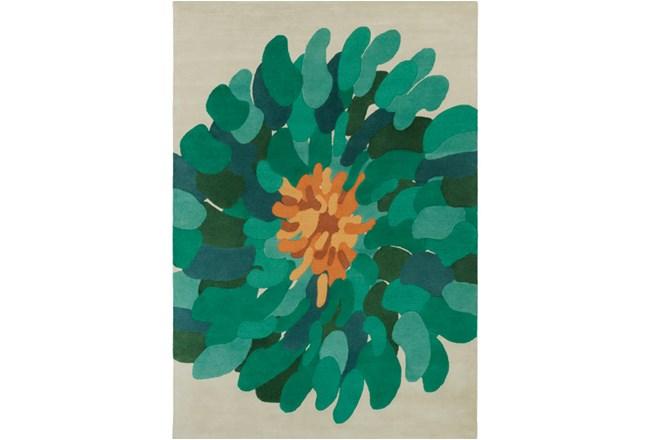 108X156 Rug-Chrysanthemum Emerald - 360