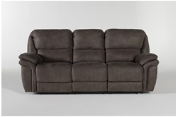 "Norfolk Grey 90"" Power Reclining Sofa"