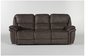 Norfolk Grey Power Reclining Sofa