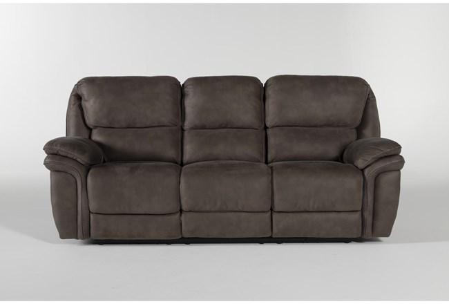 "Norfolk Grey 90"" Power Reclining Sofa - 360"
