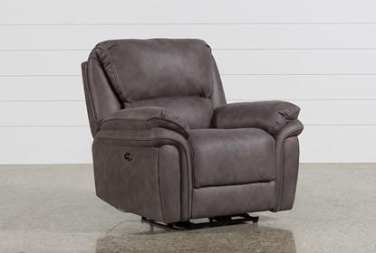 Marvelous Norfolk Grey Power Recliner Spiritservingveterans Wood Chair Design Ideas Spiritservingveteransorg