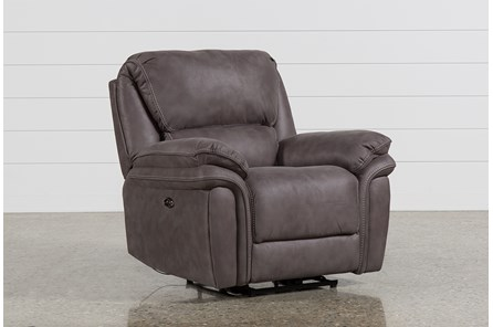 Norfolk Grey Power Recliner - Main