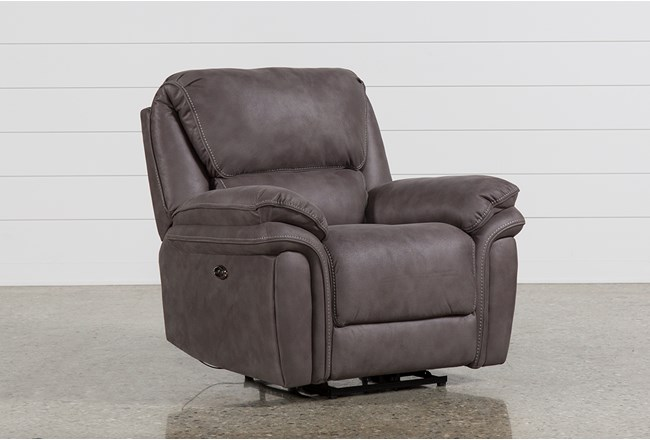 Norfolk Grey Recliner 360