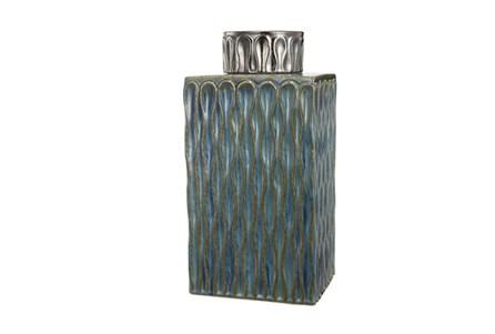 16 Inch Green Vase