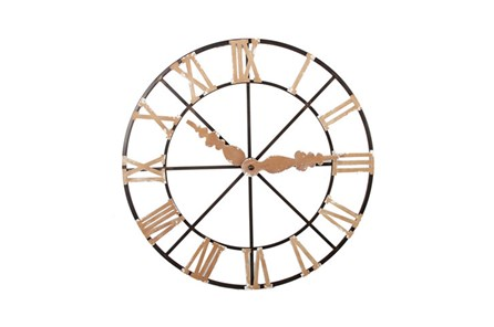 Faux Clock Wall Art - Main
