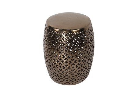 Copper Ceramic Stool