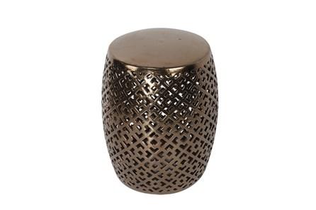 Copper Ceramic Stool - Main