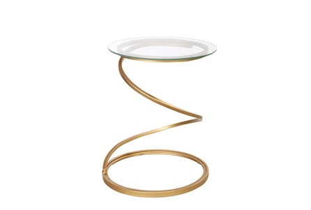 Spiral Metal Table