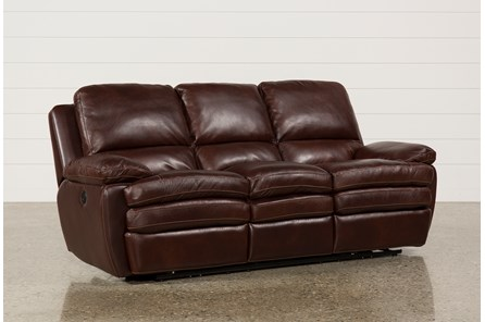 Carmen Leather Power Reclining Sofa - Main