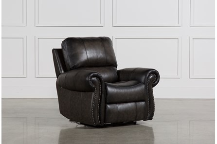 Thad Leather Power Recliner - Main