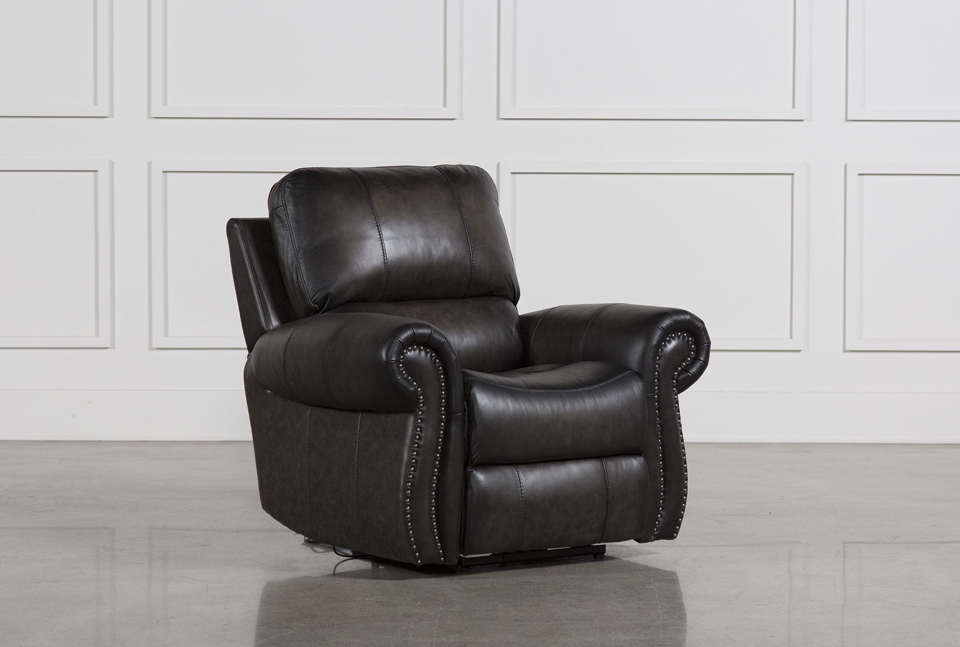 Thad Leather Power Recliner