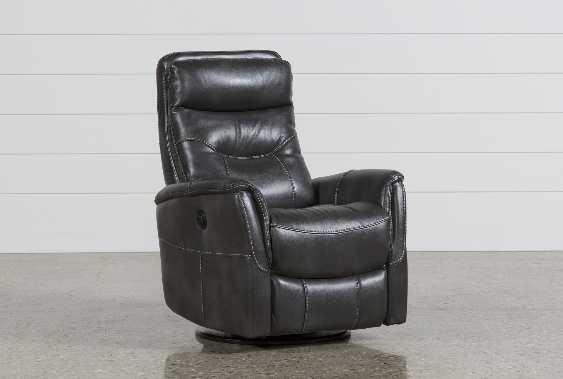 Gannon Flint Power Swivel Glider Recliner W/Built In Battery (Qty: 1) Has  Been Successfully Added To Your Cart.