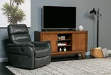 Cary Charcoal Power Wallaway Recliner - Room