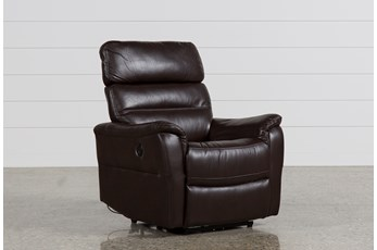Cary Chocolate Power Wallaway Recliner
