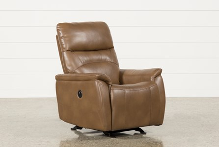 Carina Chestnut Power Rocker Recliner