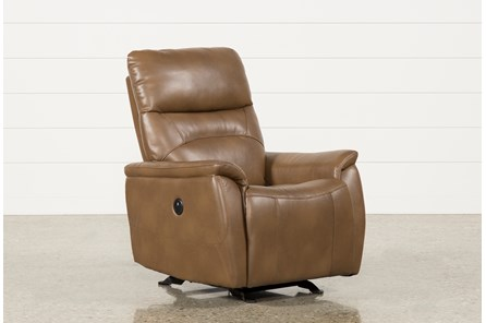Carina Chestnut Power Rocker Recliner - Main