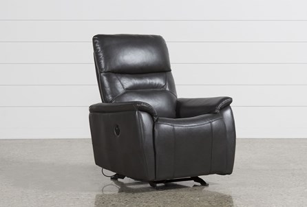 Carina Grey Power Rocker Recliner
