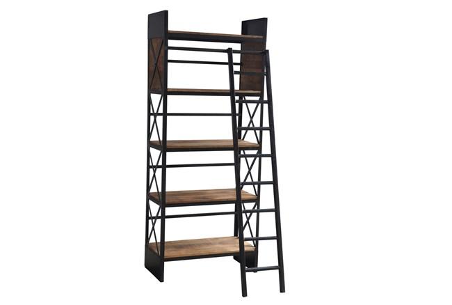 Sanjit Bookcase W/Ladder - 360