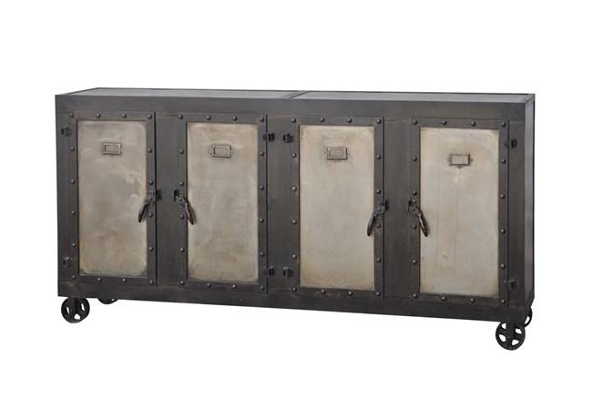 Admiral 4-Door Wheeled Locker Cabinet - 360