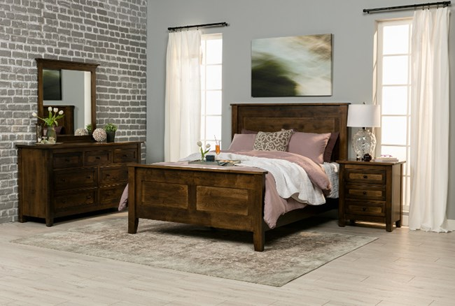 Franklin Queen Headboard Panel Bed - 360
