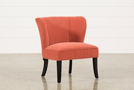 Riley Tangerine Accent Chair