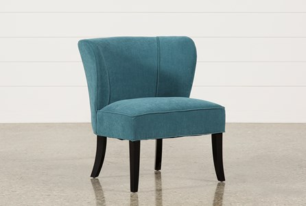 Riley Blueberry Accent Chair