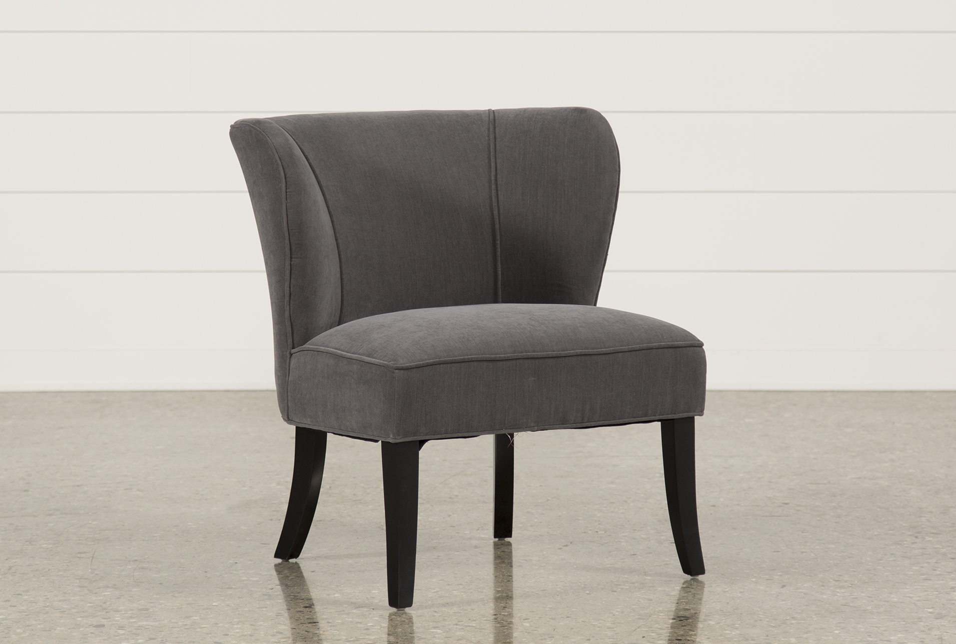 Bon Riley Grey Accent Chair   360