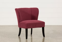 Riley Raspberry Accent Chair