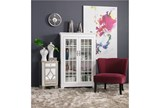 Riley Raspberry Accent Chair - Room