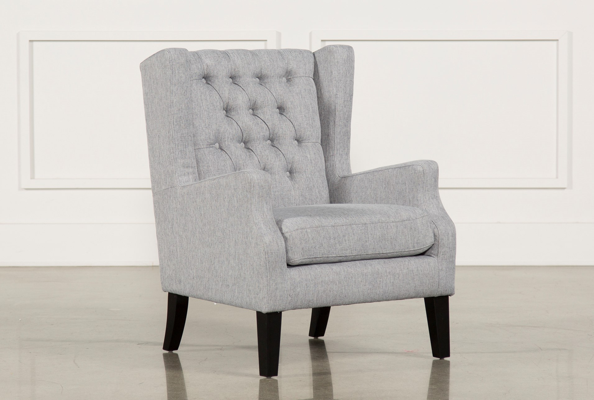 Peyton silver accent chair qty 1 has been successfully added to your cart