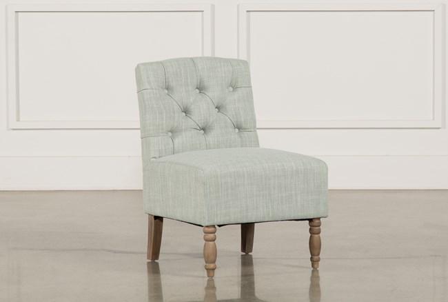 Priscilla Grey Accent Chair - 360