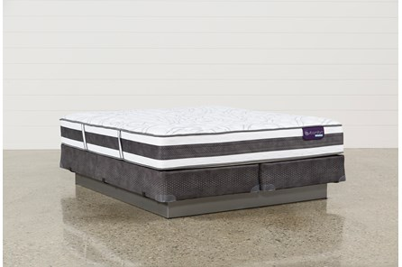 Applause II Firm Eastern King Mattress W/Foundation - Main
