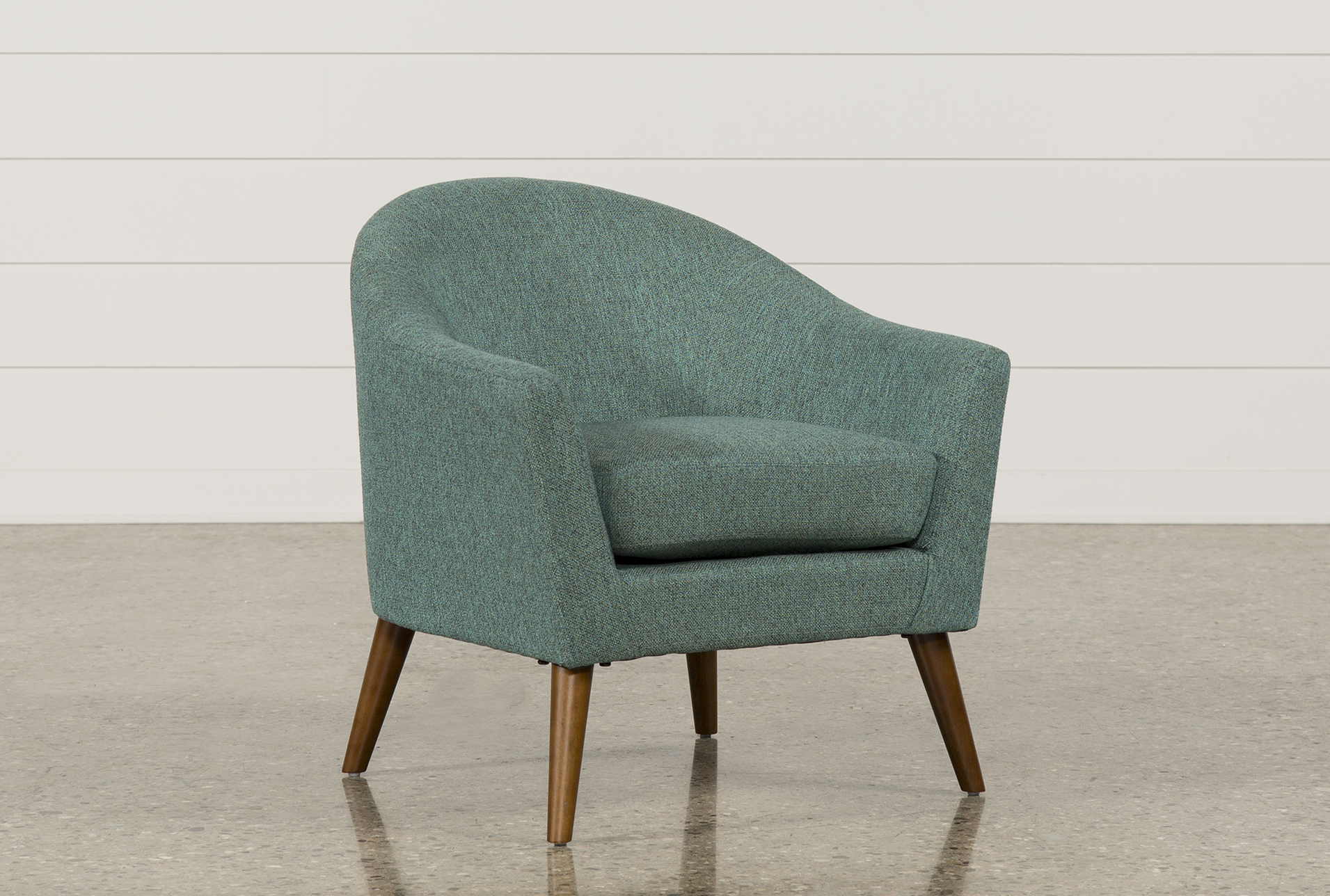 Simple Teal Accent Chairs Set