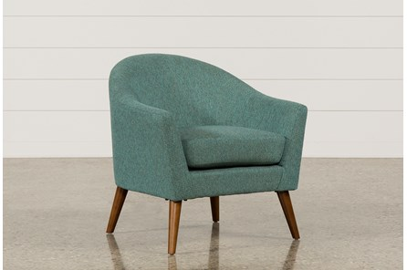 Finn Teal Accent Chair - Main