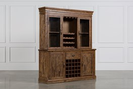 Partridge Wine Cabinet W/Hutch