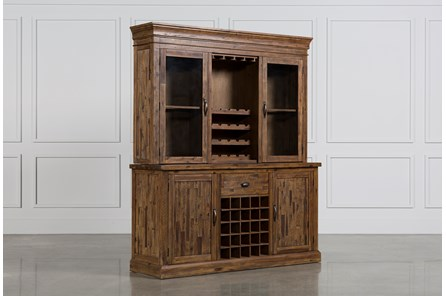 Partridge Wine Cabinet W/Hutch - Main