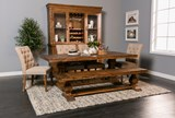 Partridge Wine Cabinet W/Hutch - Room