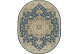 72X108 Oval Rug-Massimo Navy - Signature