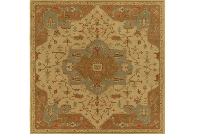 48X48 Square Rug-Massimo Gold - 360