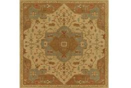 96X96 Square Rug-Massimo Gold