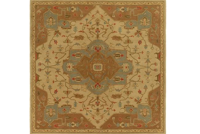 96X96 Square Rug-Massimo Gold - 360