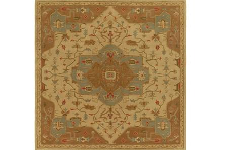 117X117 Square Rug-Massimo Gold