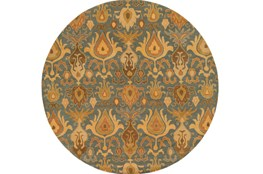 117 Inch Round Rug-Antica Olive/Forest