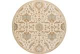 72 Inch Round Rug-Navona Ivory - Signature