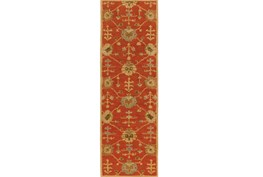 36X144 Rug-Callaby Red