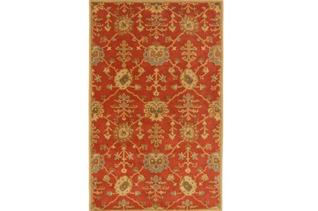48X72 Rug-Callaby Red - Main