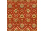 48X48 Square Rug-Callaby Red - Signature
