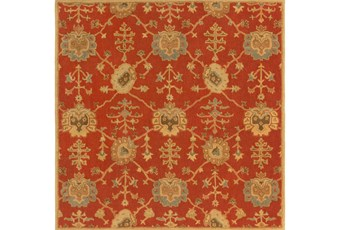 48X48 Square Rug-Callaby Red