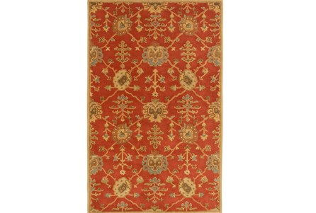 72X108 Rug-Callaby Red