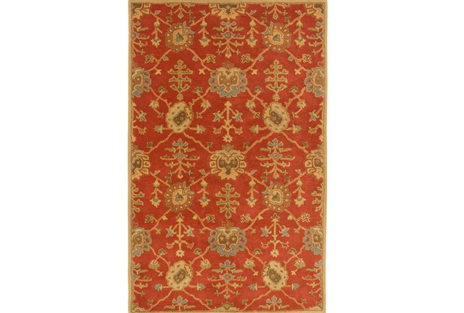 72X108 Rug-Callaby Red - 360